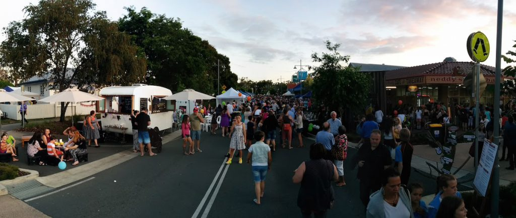 Beerwah Simpson Street Beerwah Street Party 2015