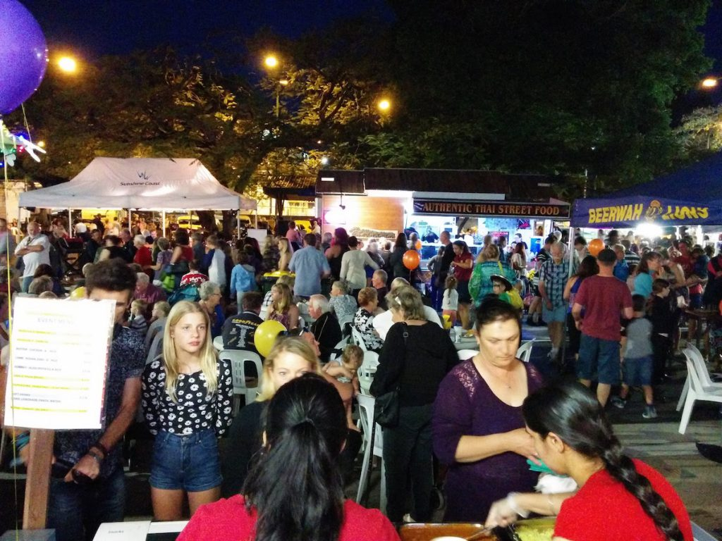 The Beerwah Street Party 2015 from Bombay Bliss Serving Amazing Curry