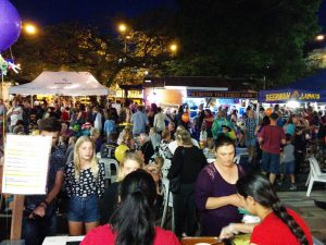 The Beerwah Street Party 2015 from Bombay Bliss Serving Amazing Curry (The Beerwah Street Party Photos 2015)