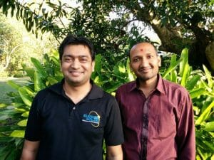 Milan and Himanshu Euro Solar Salesmen in Beerwah (Meet Honorary Locals: Milan and Himanshu – Euro Solar Salesmen)